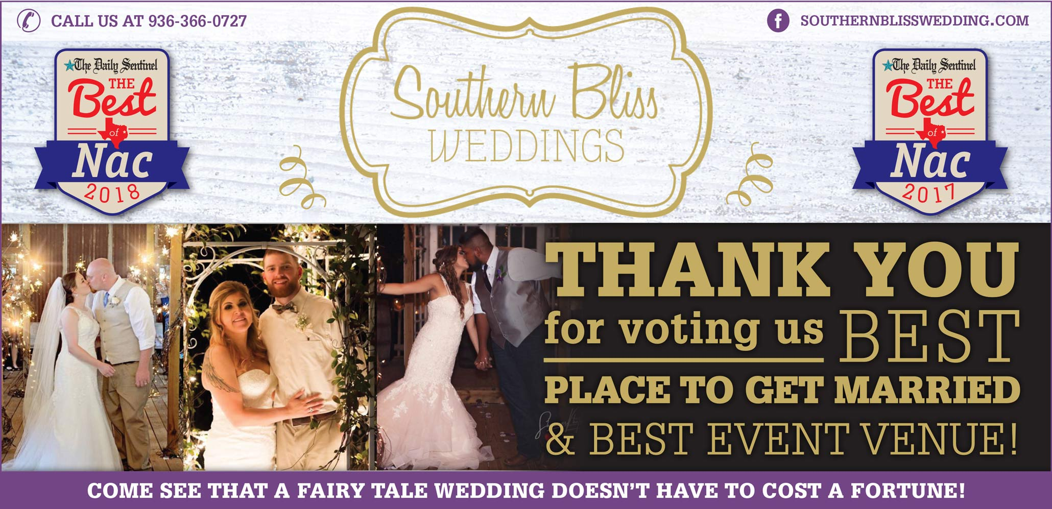 Southern Bliss Weddings Nacogdoches Tx